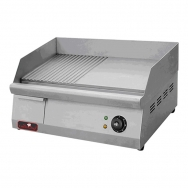 Caterchef bak/grillplaten midi glad/groef