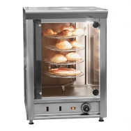 CaterChef hetelucht display & oven