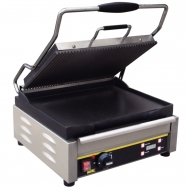Buffalo L530 contact grill rib, glad, gietijzer medium